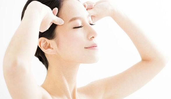 Auto massages du visage