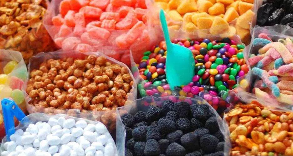 La consommation massive des colorants alimentaires