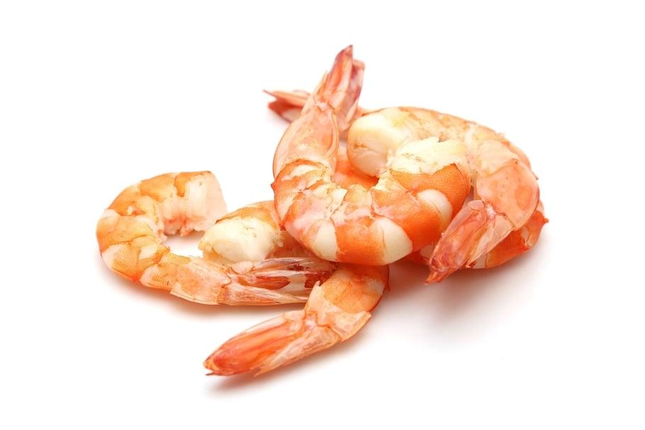 Une allergie aux crevettes